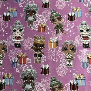 L.O.L. Doll Wrapping Paper Gift Wrap 1 Roll NEW